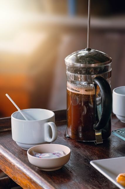French Press Coffee Maker uses