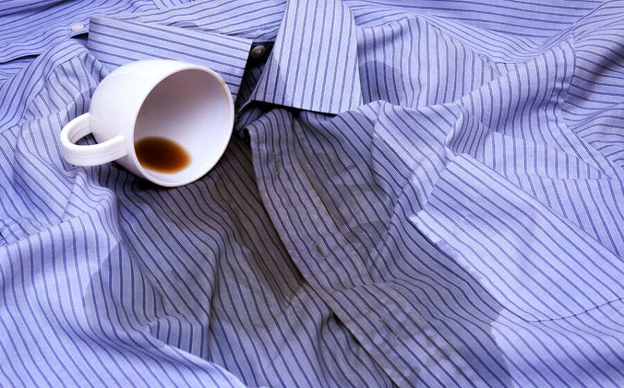 coffee stains on cloth & removal tips