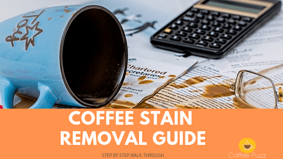 coffee stains removal guide