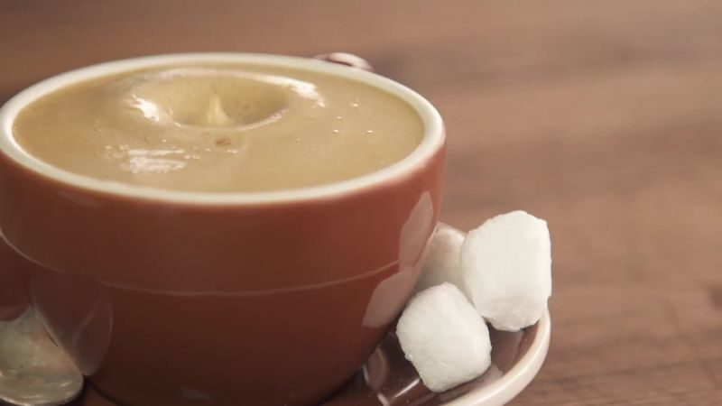 Homemade Latte without Espresso Machine