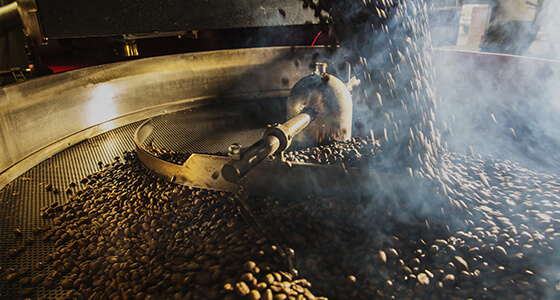 how coffee production works