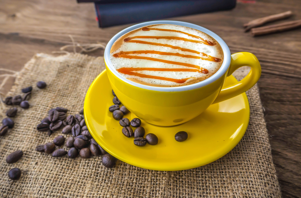how to make Caramel Macchiato at home