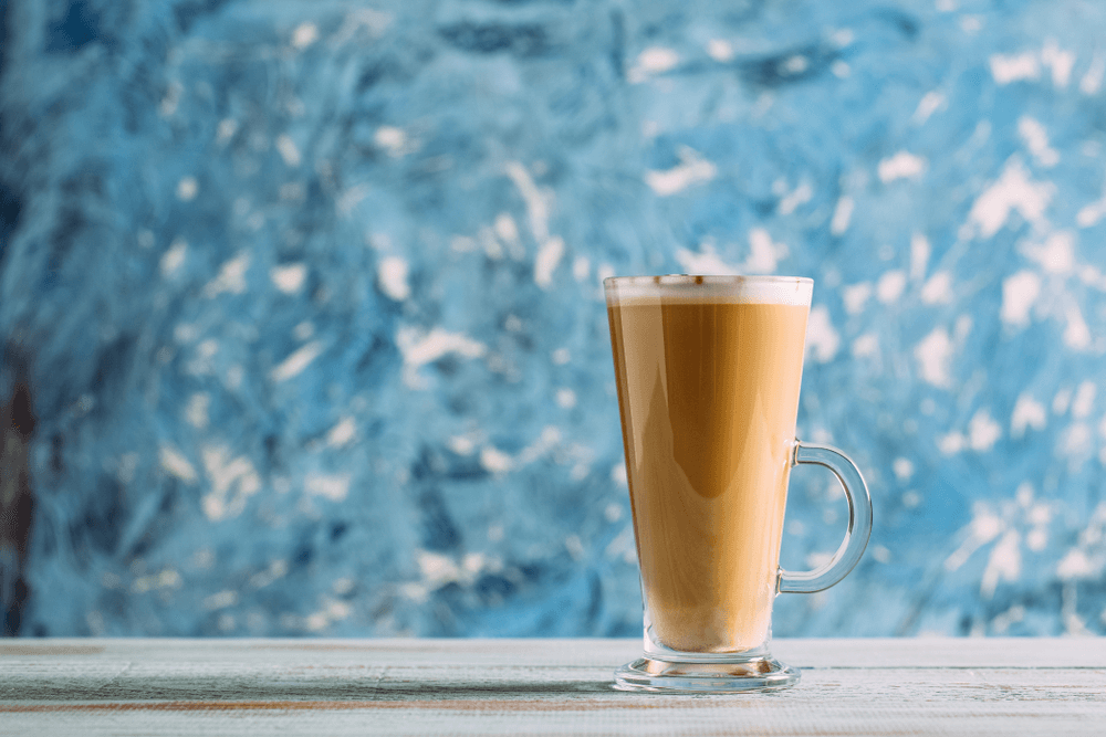 how to make vanila latte at home